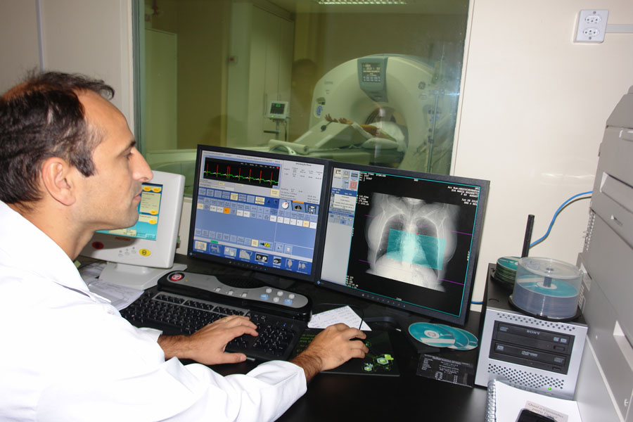 Tomógrafo oferece redução em dose de radiação